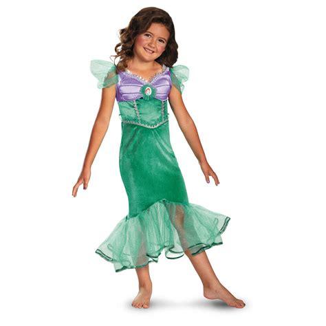disney ariel costume  mermaid princess dress toddler