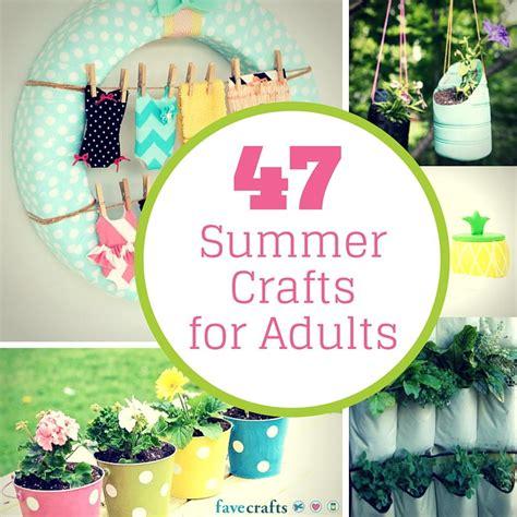 summer crafts  adults favecraftscom
