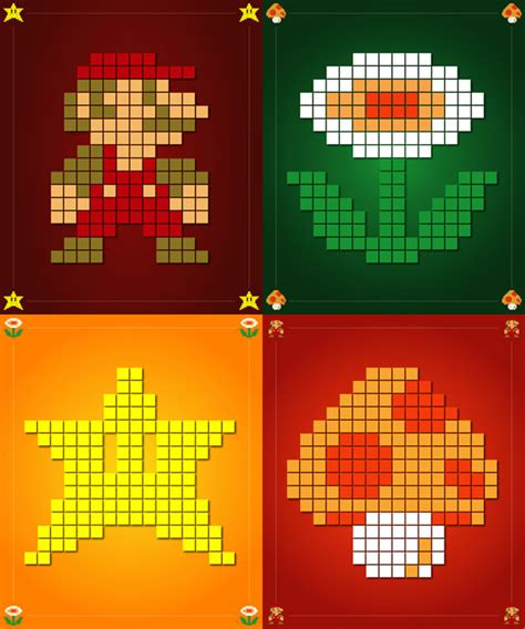 Super Mario Bros Poster Series Dark Wing Art
