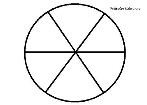Cercle Chromatique Vierge Imprimer