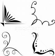 Simple Corner Border Designs Design Images Easy Patterns For Borders