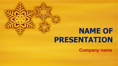 funny winter powerpoint template  theme