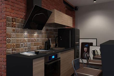 Innovative, Industrial and Space Savvy: Tiny Bachelor Pad