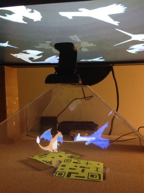 Halloween Hologram Projector Kopen by Check Out Some Holographic Pok 233 Mon Projections
