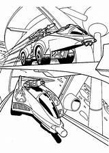 Coloring Wheels Race Road Hotwheels Printable Sheets Netart sketch template
