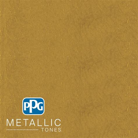 ppg metallic tones 1 gal mtl137 gilded gold metallic interior specialty finish paint mtl137 01