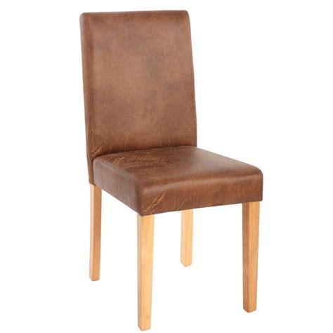 lot de 6 chaises en bois chaises lot de 6 chaises en textile couleur daim pieds en bois massif