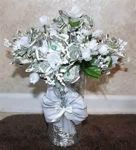 Flower Bouquet with Money