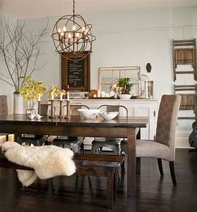 12 rustic dining room ideas decoholic With rustic dining room wall decor