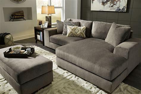 manzani graphite sectional living room set  signature