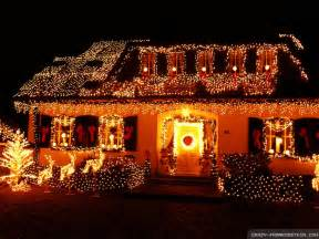 christmas decorated houses architecture wallpapers hd background wallpaper gallery