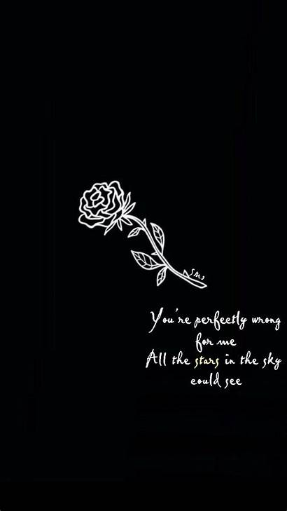 Wallpapers Aesthetic Song Mendes Shawn Lyric Quotes