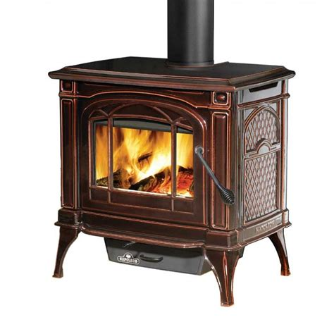 Napoleon 1100cp 1 Cast Iron Wood Burning Stove Metallic