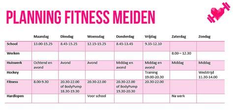 fitness eten vrouwen