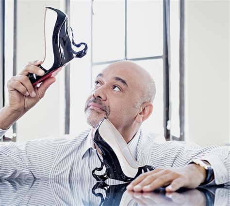 christian louboutin designer collaborates with christian louboutin