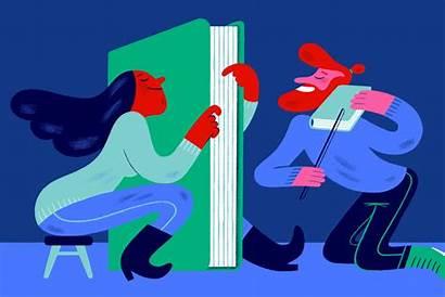 Illustration York Times Illustrations Holiday Animation Lovers