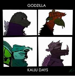 GODZILLA KAIJU DAYS | Godzilla Meme on me.me