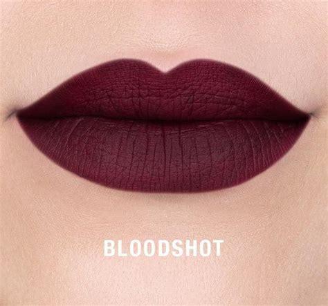 morphe liquid lipstick bloodshot samika store
