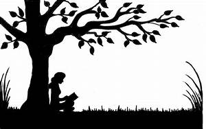 The gallery for --> Woman Writing Silhouette