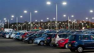tips for parking lots lighting with led light fixtures iluxz With outdoor car photography lighting