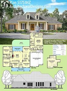 Home Design: Acadian Home Plans For Inspiring Classy Home ...