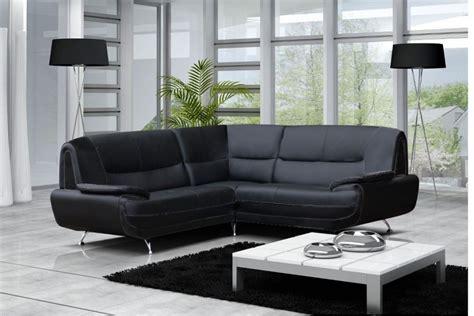 canapé gris simili cuir canapé d 39 angle en simili cuir pas cher