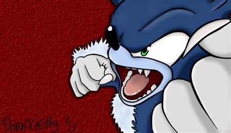 Sonic Werehog By Xdarkxkittyx On Deviantart
