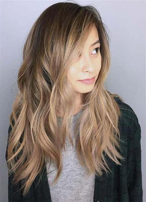ideas  face framing long hairstyles  fashionre