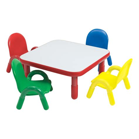 angeles corporation baseline toddler table amp chair set at 554 | ang ab741s12 multi