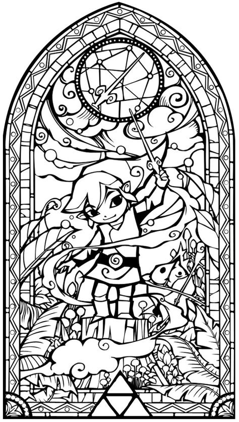 zelda coloring pages  skyward sword  gianfredanet