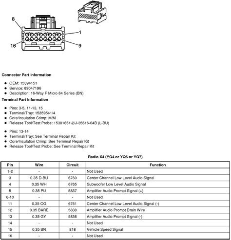 Wiring Diagram Schematic For Sts Bose System