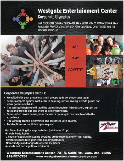 company party ideas corporate party ideas westgate