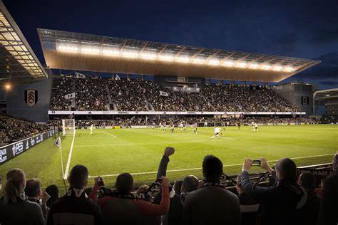 fulham stadium craven cottage  stand  increase
