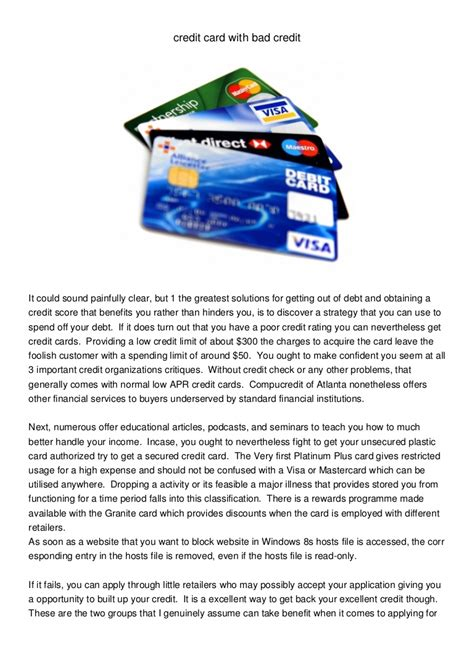 Earn 1% cash back rewards on all eligible purchases. credit card with bad credit