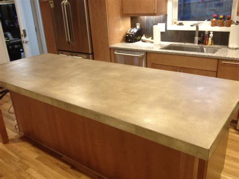 large custom kitchen islands burco surface decor llc concrete countertops atlanta