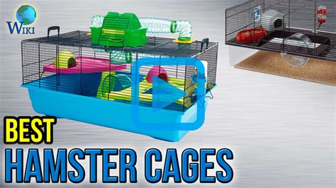 Top 7 Hamster Cages Of 2018  Video Review