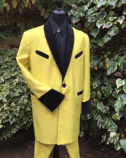 Suit Drape - masquerade yellow teddy boy drape suit masquerade