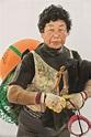 South Korean female sea-divers who swim 65ft to the ocean ...