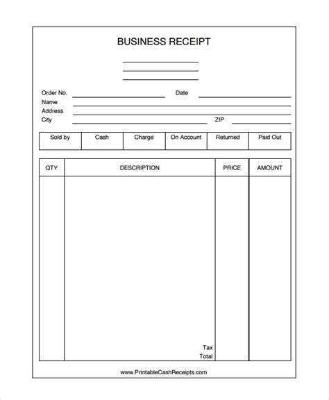 business receipt template 28 receipt templates sle templates