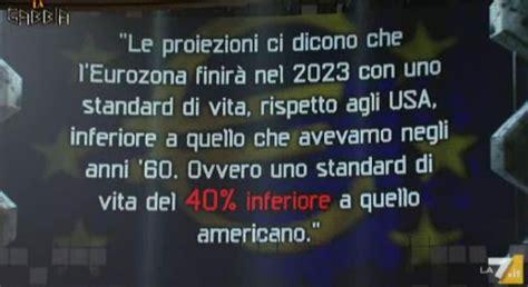 Trasmissione La Gabbia A Quot La Gabbia Quot L Incontro Tra Renzi E Berlusconi E La Crisi