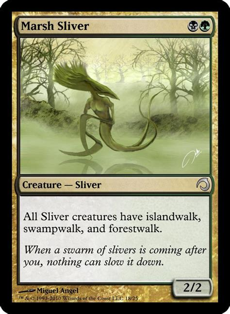 magic the gathering sliver deck ideas 943 best images about m t g on