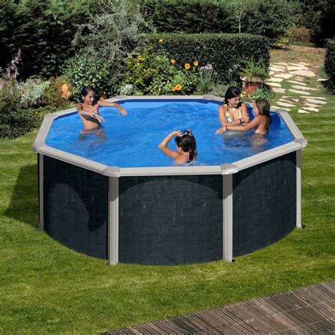 Pool 1 50 Tief by Summer Set Rundpool 187 Rattan Optik 171 120 Cm Tiefe