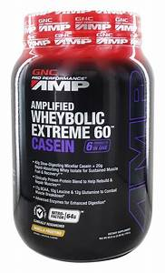 Buy Gnc - Pro Performance Amp Amplified Wheybolic Extreme 60 Casein Vanilla Frosting