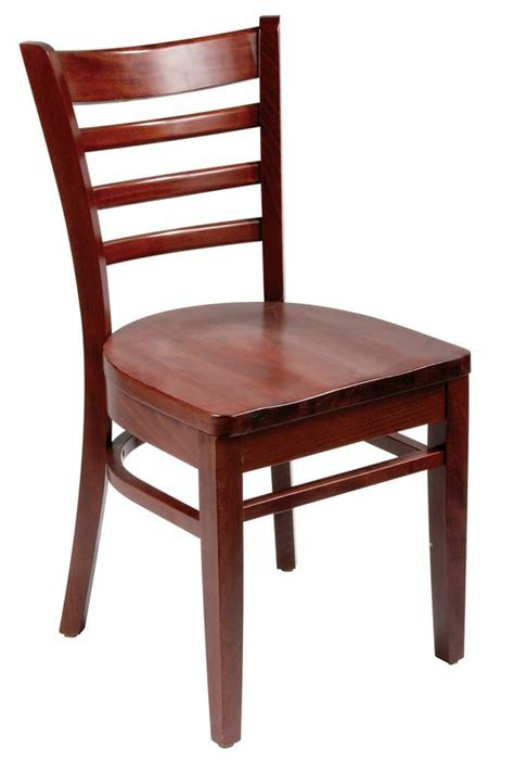 ladder back chairs restaurant chair mahogany ladder