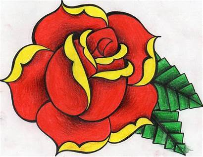 Rose Drawing Traditional Roses Drawings Paintingvalley Draw