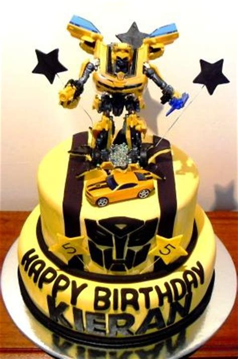 Pictures Of Bumble Bee Transformer Bumblebee Transformers Birthdaycake Bumble Bee Transfo Flickr