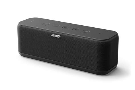 anker bluetooth lautsprecher test anker soundcore boost bluetooth speaker review this