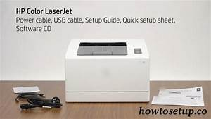 Simple Guide How To Setup Hp Laserjet Printer