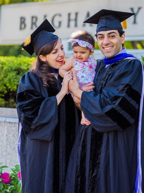 poornejad family byu graduation seattle graduation