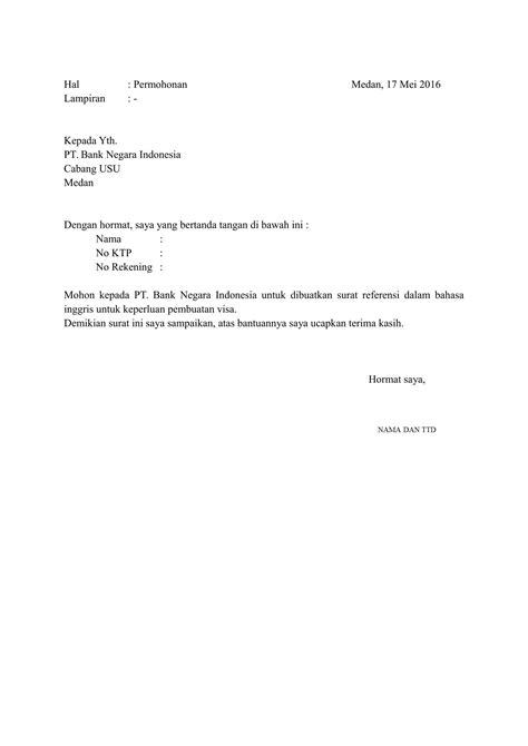contoh surat sponsor  visa  bahasa inggris surat